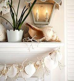 Garland - sea shells