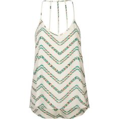 FULL TILT Ethnic Chevron Womens Tank ($22) ❤ liked on Polyvore