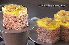 Ciasto z kremem prince-polo i galaretką
