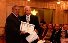 Ex-presidente David Fischel (à direita) do Fluminense morre aos 79 anos (Foto: Nelson Perez / Flickr do Fluminense) RIP