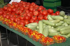 Farmers Market   every Saturday 1-5 p.m. on Roosevelt between Grand and Village Drive