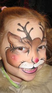 Snapdragon Face Painting
