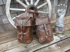 Twin vertical Swiss Army packsaddles by Men A Werro