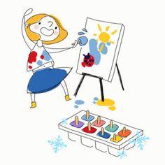 Peinture glacée !