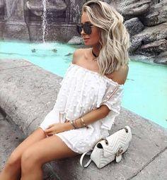 Beauty #dress  #bag #sunglasses #hairstyle #stylish #style
