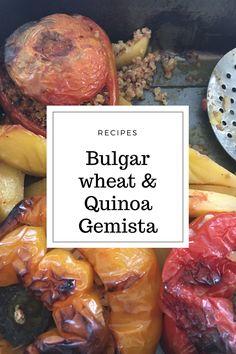 Bulgar wheat & Quinoa Gemista           Bulgar wheat & Quinoa Gemista      Bulgar wheat &