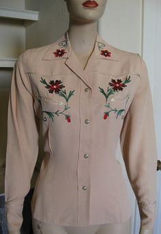 10 OFF Was 135.00.    1950's Vintage Western by TheVintageVendetta, $121.50