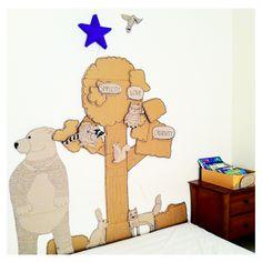 DIY kids wall decor