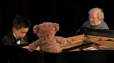 5 year old piano prodigy plays for his special 101 year old friend. Incredibly sweet Inspirational video.