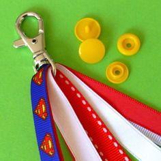 Kit pour fabriquer 1 porte clé / bijou de sac / gri-gri