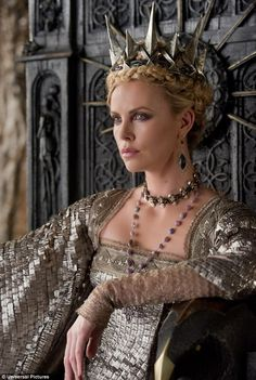 Charlize Theron in Snow White and the Huntsman!!! Can't wait to see this movie!