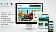 Blogster – Themeforest Responsive Blog WordPress Theme Free Download