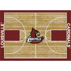 You'll love the College Court Louisville Cardinals Rug at Wayfair - Great Deals on all Rugs products with Free Shipping on most stuff, even the big stuff.