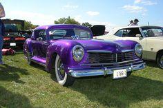 George Barris Custom Cars | Barris Custom Hudson. This Is One Of George Garris' early Custom Cars.