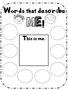 What the Teacher Wants!: Hey! Youre Great! Cute for first week of preschool about me feel good and confident booklet along with Words that Help / Words that Hurt chart for later in the year when needed.