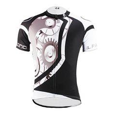 Amazon.com   Paladin Men s Mechanical Pattern Bike Shirt Short Sleeve  Cycling Jersey   Sports   Outdoors e231ba45e