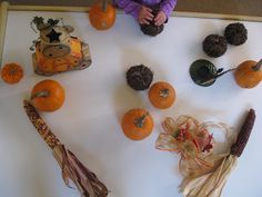 Fall Sensory Table for Toddlers | The Sugar Aunts #toddlers #fall #sensory