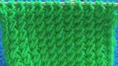 Πλεκτα με βελονες-ΣΤΑΥΡΩΤΟΙ ΠΟΝΤΟΙ Knitting Videos, Crochet Videos, Knitting Stitches, Crochet Ripple, Merino Wool Blanket, Diy And Crafts, Hat Patterns, Tube, Women's Fashion