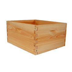 Assembled 9 5/8-inch deep box
