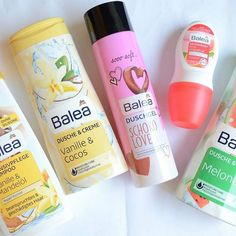 Moje nowosci kosnetyczne #Balea#cosmetics#washgel#shampoo#chocolate#watermelon#vanilie#happy