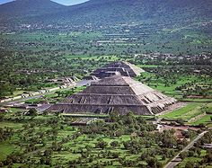 Teotihuacan, Mexico  Pyramids of the Sun and Moon
