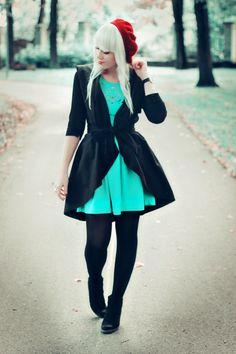 One of my favourite fashion bloggers, Kertii. She's a fashion design student from Tartu, Estonia.
