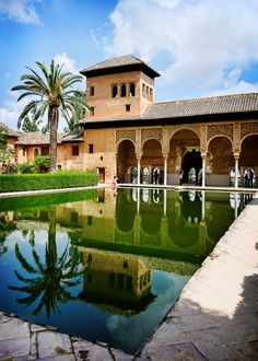 """Alhambra, Spain • Wortld Heritage Site • """"Palace """" by PierreMaheux on http://500px.com/photo/6302252"""