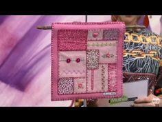 Mulher.com - 08/07/2016 - Painel bordado - Rosana Pardo PT1 - YouTube
