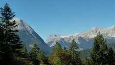 Möserer Höhe, Mösern Mountains, Nature, Travel, Naturaleza, Viajes, Destinations, Traveling, Trips, Nature Illustration
