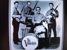 From 1960 and those early days of the then new 'surf; sound - here's The Ventures with 'Perfidia' Surf Music, 60s Music, Music Mix, Music Love, Music Songs, Music Videos, Move Song, The Ventures, Silly Songs