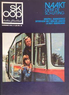 Naakt over de schutting - Skoop - Jrg 9 - #5 Rijk de Gooijer & Jennifer Willems Interview, Cinema, Cover, History, Retro, Film, Classic, Frans, Magazines