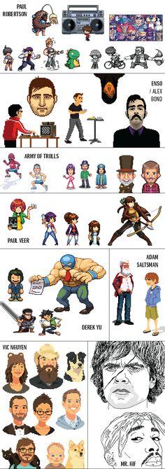 Legends of Pixel Art
