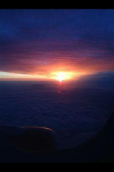 At 36,000 feet.