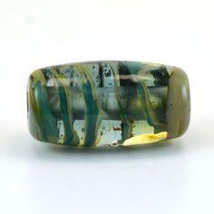 Aligator Alley Handmade Glass Lampwork Bead by GlassyFields on Etsy