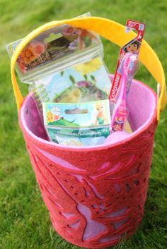 Inexpensive easter basket ideas from the thrift stores holidays easter basket ideas be sure to include a new toothbrush http negle Images