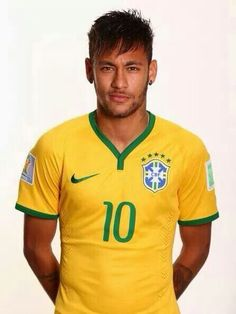 Neymar is some fine piece of man candy Neymar Jr, Neymar Football, Football Players, World Cup 2014, Fifa World Cup, Lionel Messi, Paris Saint Germain Fc, National Football Teams, Different Sports