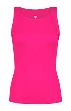 Tail Electric Rush Scoop Neck Tank /Blazing Pink