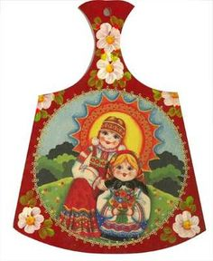 Kitchenware nesting doll decorative cutting board