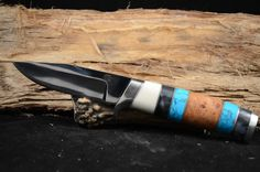 """Overall 9 1/4"""" with a 3 3/8 blade.  Various material handle with a mirror finish.  Made with 440C steel"""