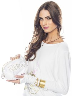Love Is A Beautiful Ride White Cosmetic Case #easter #makeupcase #easterbasketstuffer