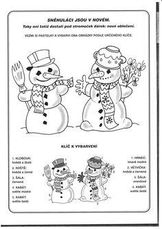 sněhulačka kreslená - Hledat Googlem
