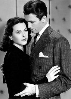 "Jimmy Stewart and Hedy Lamarr for ""Come Live With Me"" (1941)"