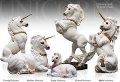 Unicorn Family (picture from NobleWares)
