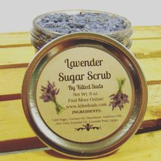 Our sugar scrubs are getting a face-lift! There are just a few scrubs left with the old packaging and we want you to have them! Free shipping on all in stock sugar scrubs for the rest of the week. Hurry though they are almost gone!  Sugar scrubs are used for exfoliation polishing and moisturizing. The gentle exfoliation removes dead skin allowing the new healthy skin to fully absorb the moisturizing oils and butters. Polish your skin and become softer than ever before!  Wet your skin and rub…
