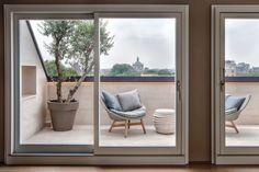 Marta Bastianello architetto | Attico a Milano — Morigi 9 Milano, Windows, Outdoor, Modern, Outdoors, Outdoor Games, The Great Outdoors, Ramen, Window