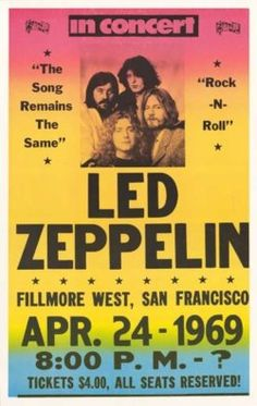Wow...an opened ended concert that was only four bucks to attend....bet it kicked ass!!  Too bad I was only 11 at the time...