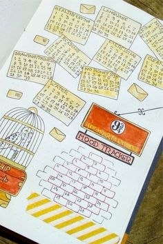 Best Harry Potter Bullet Journal Spread Ideas For 2020 – Crazy Laura Want to add a Harry Potter spread to your bullet journal and need some ideas? Check out these 24 super cool examples for inspiration! Bullet Journal Tracker, Bullet Journal Workout, Bullet Journal October, Bullet Journal 2020, Bullet Journal Notebook, Bullet Journal Themes, Bullet Journal Spread, Bullet Journal Inspiration, Book Journal