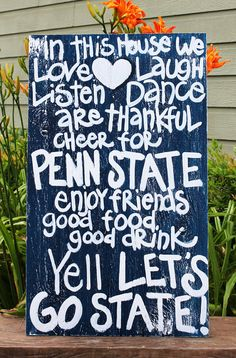 Love this!! ♥ We Are... PENN STATE