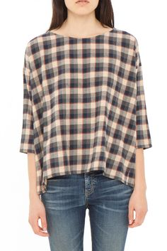The Boxy Blouse.