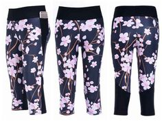 NOTE:  HAVE THESE - 19.99 - CHERRY BLOSSOM ATHLETIC LEGGINGS lotusleggings